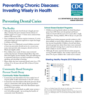 Preventing Dental Caries Case Study